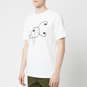 A.P.C. Men's Ted T-Shirt - Blanc