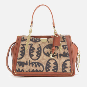 Coach 1941 Women's Coated Canvas Signature Rexy by Guang Yu Dreamer 21 Bag - Tan Rust