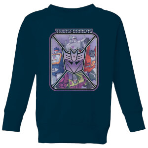 Transformers Decepticons Kids' Sweatshirt - Navy