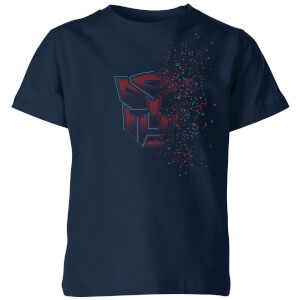 Transformers Autobot Fade Kids' T-Shirt - Navy