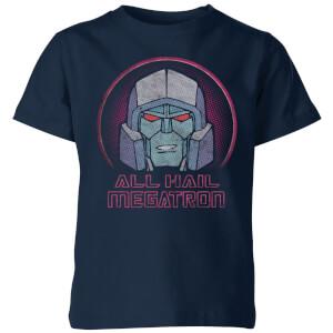 Transformers All Hail Megatron Kids' T-Shirt - Navy