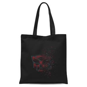 Transformers Autobot Fade Tote Bag - Black