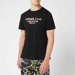 9bfe3061 Versace Jeans Men's Logo T-Shirt - Nero