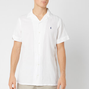 Polo Ralph Lauren Men's Camp Collar Shirt - White