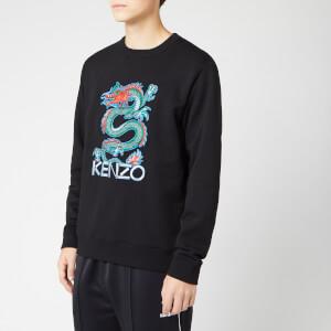 KENZO Men's Dragon Embroidered Sweatshirt - Black