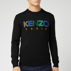 KENZO Men's Knitted Paris Jumper - Black