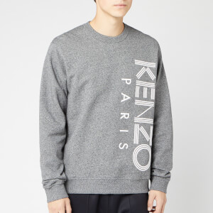 KENZO Men's Vertical Logo Sport Sweatshirt - Anthracite