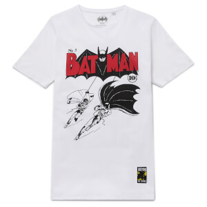 Batman 80th Anniversary 40s Legend T-Shirt - White