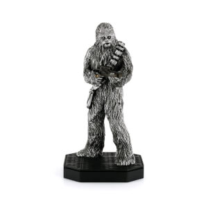 Figura Chewbacca Star Wars Ed. Limitada 23,5 cm (5 000 uds. disponibles) - Royal Selangor