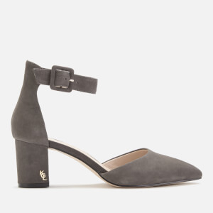 Kurt Geiger London Women's Burlington Suede Block Heels - Grey