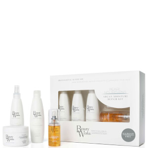 Beauty Works Gift Set - Argan Moisture Repair (Sulphate Free) 250ml (Worth $79)