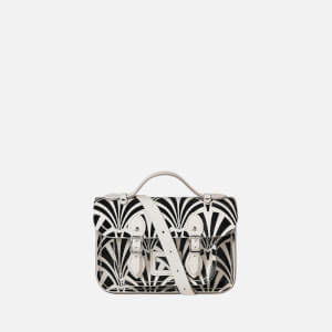 The Cambridge Satchel Company Women's Mini Satchel - Black Deco Print