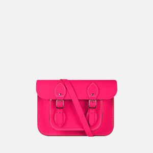 "The Cambridge Satchel Company Women's 11"" Satchel - Fluoro Pink"