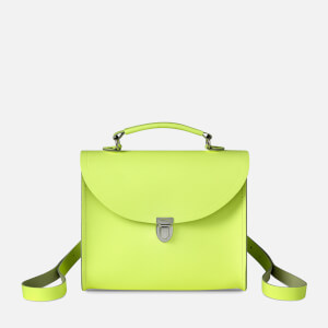 The Cambridge Satchel Company Women's Poppy Backpack - Neon Yellow