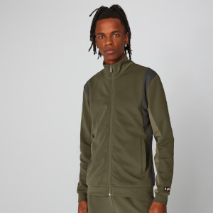 Colourblock Zip-Through - Birch