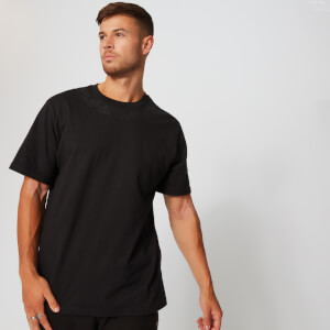 MP Neckline Graphic T-Shirt - Black