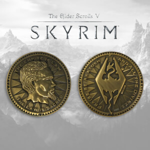 Elder Scrolls 'Skyrim' Collector's Coin Limited Edition - Antique Gold Variant