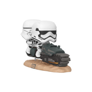 Star Wars The Rise of Skywalker First Order Tread Speeder Pop! Movie Moment