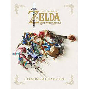 Dark Horse Legend of Zelda: Breath of the Wild Creating a Champion Hardcover