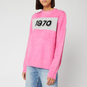 Bella Freud Women's 1970 Mohair Jumper - Flamingo Pink