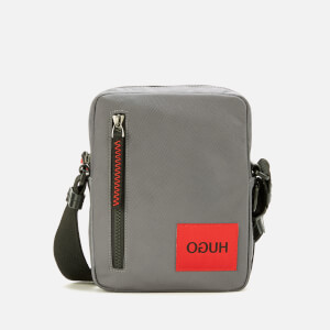 HUGO Men's Kombinat Messenger Bag - Dark Grey