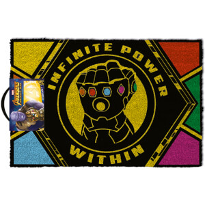 Avengers: Infinity War (Infinite Power Within) Doormat