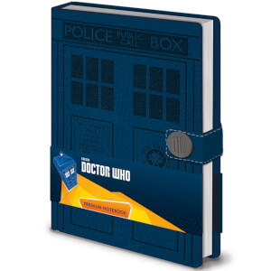 Doctor Who (Tardis) Premium A5 Notebook