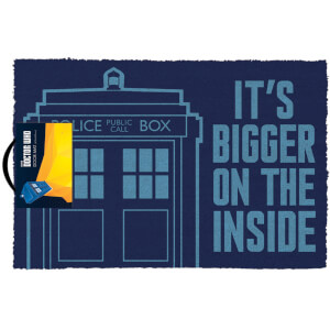 Doctor Who (Tardis) Doormat