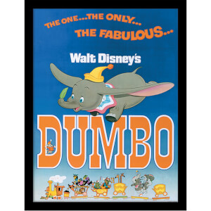 Dumbo (The Fabulous) Framed 30 x 40cm Print