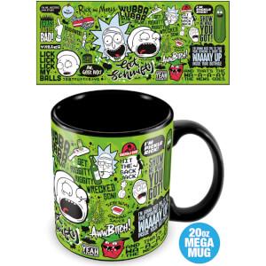 Rick and Morty (Quotes) Mega Mug