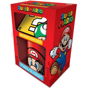 Super Mario (Mario) Mug, Coaster and Keychain Set