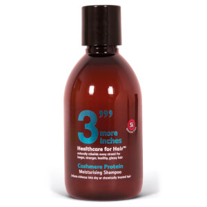3 More Inches Cashmere Protein Moisturising Shampoo 250ml