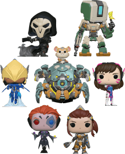 Overwatch Toy Fair Pop! Vinyl - Pop! Collection
