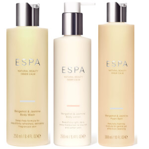 ESPA Bergamot and Jasmine Trio (Worth £61)
