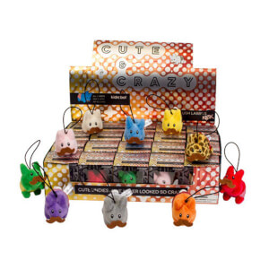 "Kidrobot Happy Labbit Plush """"Cute N' Crazy"""" Keychain Assortment"