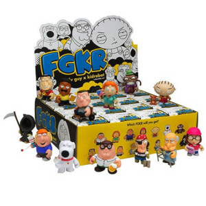 Kidrobot Family Guy Collectible Mini Vinyl Action Figure Assortment