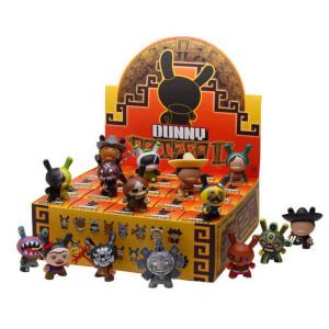 Kidrobot Dunny Azteca Series II 3 Inch Figures Assortment