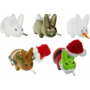 Kidrobot Xmas Wonderland 5-Pack Mini Series 2 Inch Vinyl Figure
