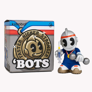 Kidrobot 'Bots Mini Faster, Higher, Stronger Edition 3 Inch Figure