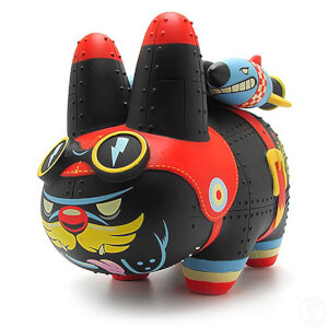 Kidrobot Kozik Yankee Pig Dog Labbit 7 Inch Figure by Kronk