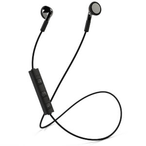 Mixx Classic Fit 1 Bluetooth Wireless Stereo Earphones - Black