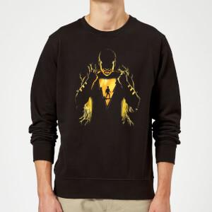 Shazam Lightning Silhouette Sweatshirt - Black