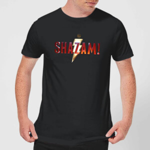 Shazam Logo Men's T-Shirt - Black