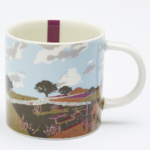 Joules White Walk Mug