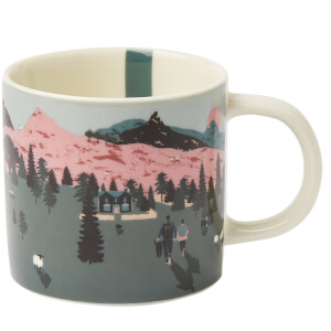 Joules White Dawn Mug
