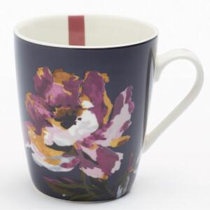 Joules Floral Mug - Navy