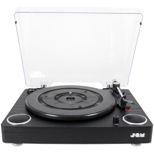JAM Play Turntable - Black Wood