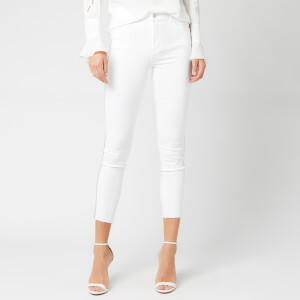 J Brand Women's Alana High Rise Crop Skinny Jeans - Borderline