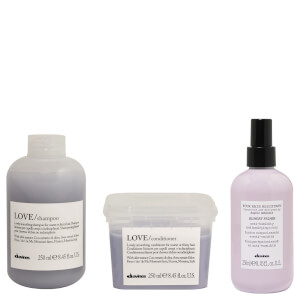 Davines Essential Love Smoothing Trio Pack (Worth $118.85)
