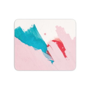 Mouse Mats Scribble Pink Blue Crayon Mouse Mat